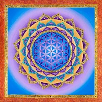 Flower of Life - Light in the Sky Mandala