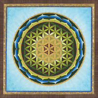 Flower of Life - Maui Jungle Mandala