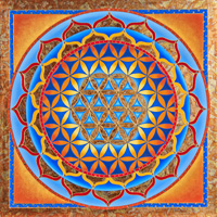 Flower of Life - Sun Mandala