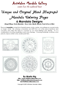 Mandala Coloring Pack