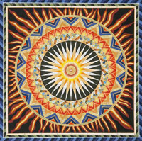The Awakening Fire Mandala